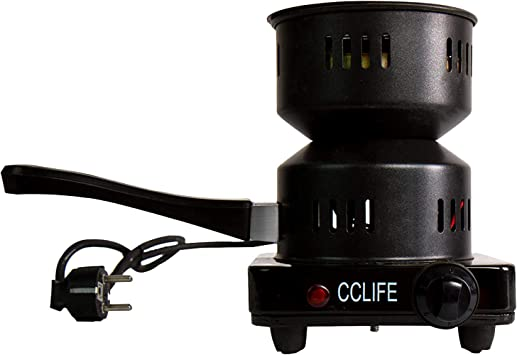 CCLIFE Hornillo eléctrico cachimba carbón Shisha Encendedor ...