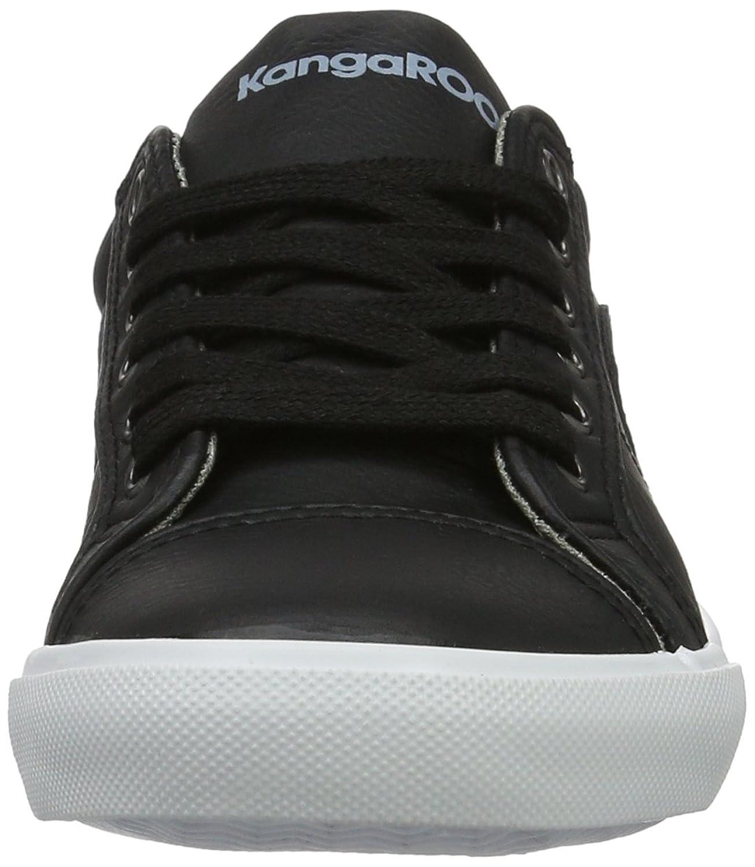 KangaROOS K-Vulca 5054, Damen Sneakers, Schwarz (black 500), 38 EU