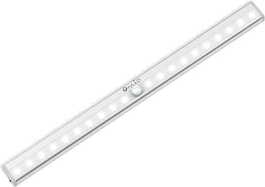 Lloytron d2251 réglable armoire lumière led avec détecteur de mouvement IR passive Noir