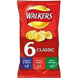 Walkers Crisp Classic Variety, 25g (6 Pack)
