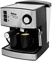Cafeteira Coffee Express 15 Bar, 850w, 110v, 53901026 Philco Preto/Prata