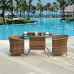 3 Piece Wicker Patio Furniture Sets