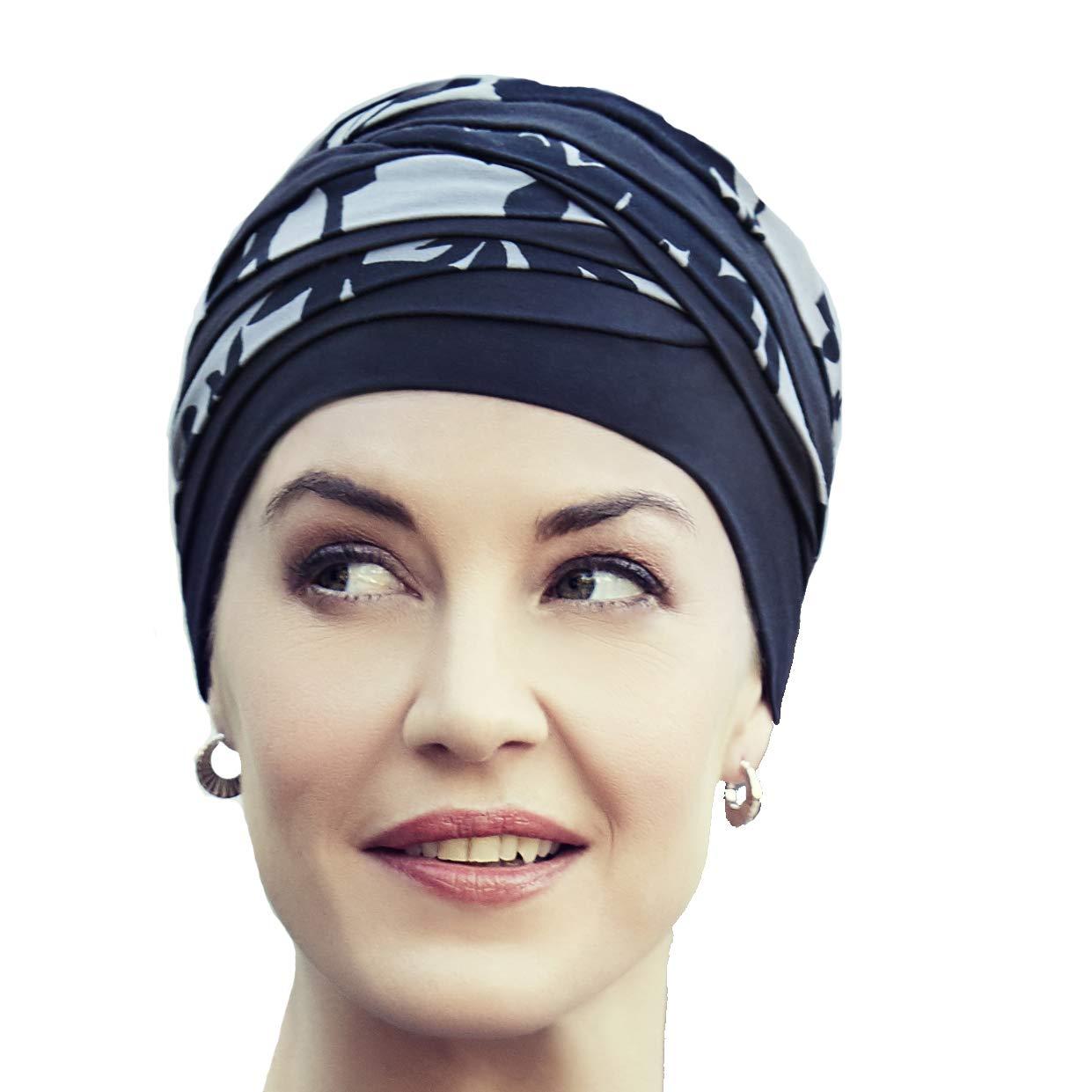 Christine Headwear Shantia Bamboo Turban Stoffturban Kopftuch Chemo-Kopfbedeckung Chemomütze 1131-0395