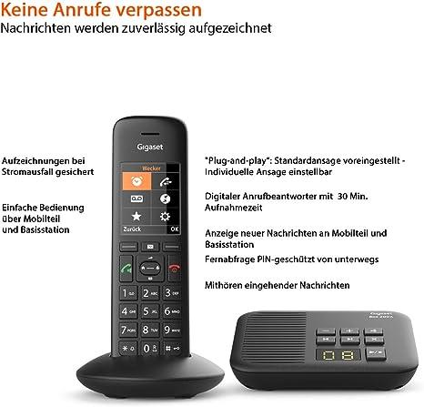 Gigaset C570a Schnurloses Telefon Mit Anrufbeantworter Elektronik