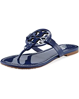 53deeb99b460 Tory Burch Bright Indigo Miller Patent Leather Flats