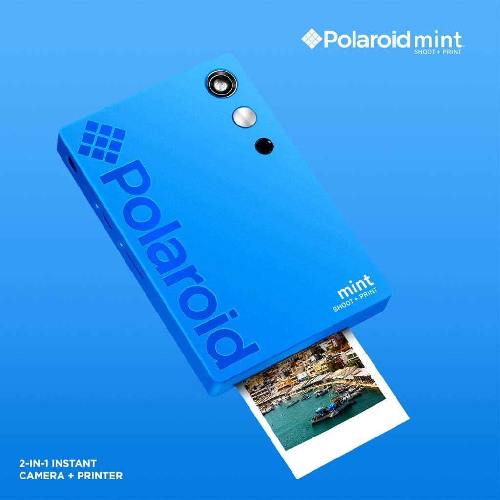 rotuladores 9 Sets de Adhesivos Blanca Funda Deluxe /álbum Paquete Regalo Polaroid Mint: C/ámara instant/ánea Marcos de Colgar 20 Hojas Zink