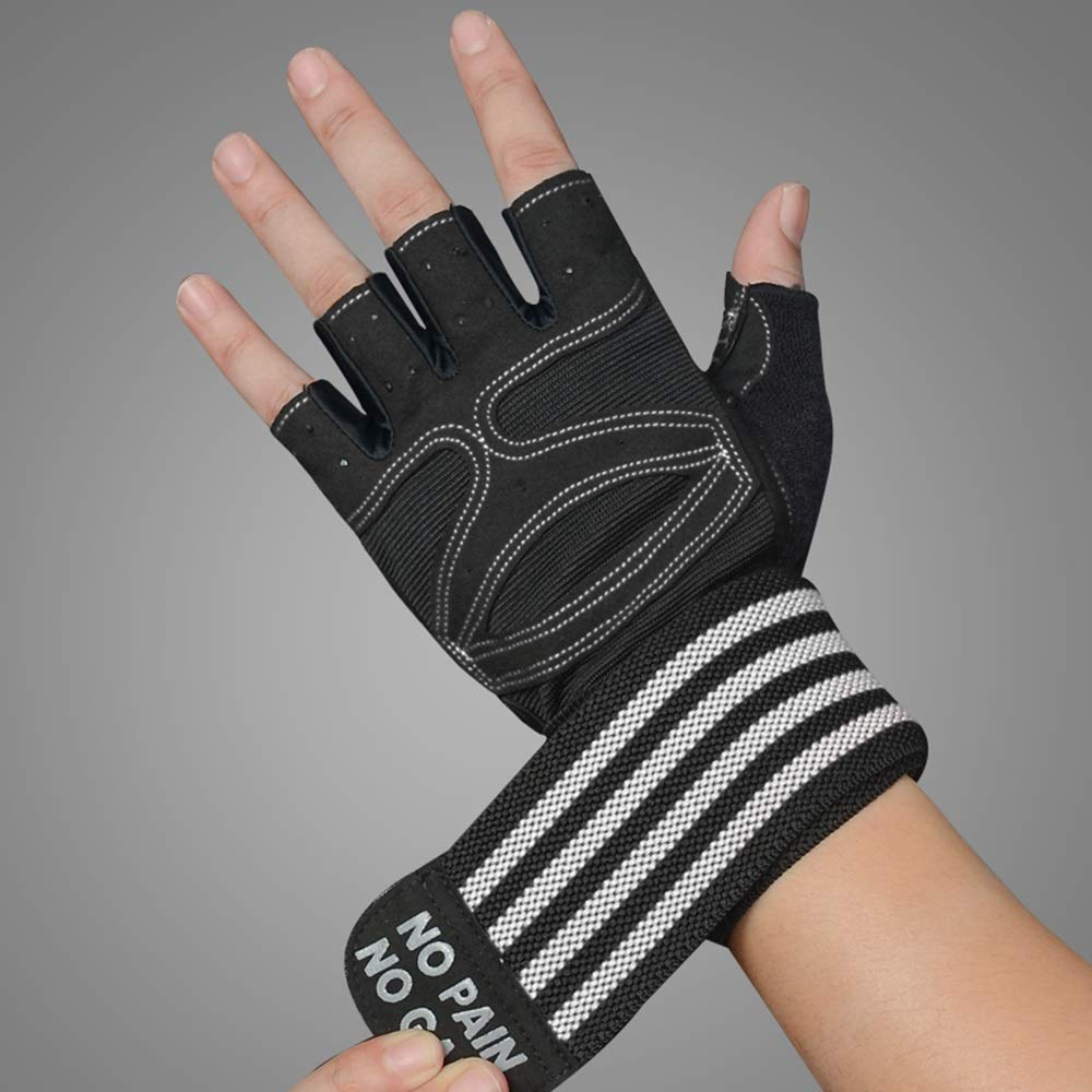 Handschuh Pressurized Wristband Fitness Handschuhe halbe Fingerhandschuhe rutschfeste atmungsaktive M/änner Frauen Fitness Hantel Ausr/üstung Training /Übung halber Finger Handgelenk halb Finger Handschu