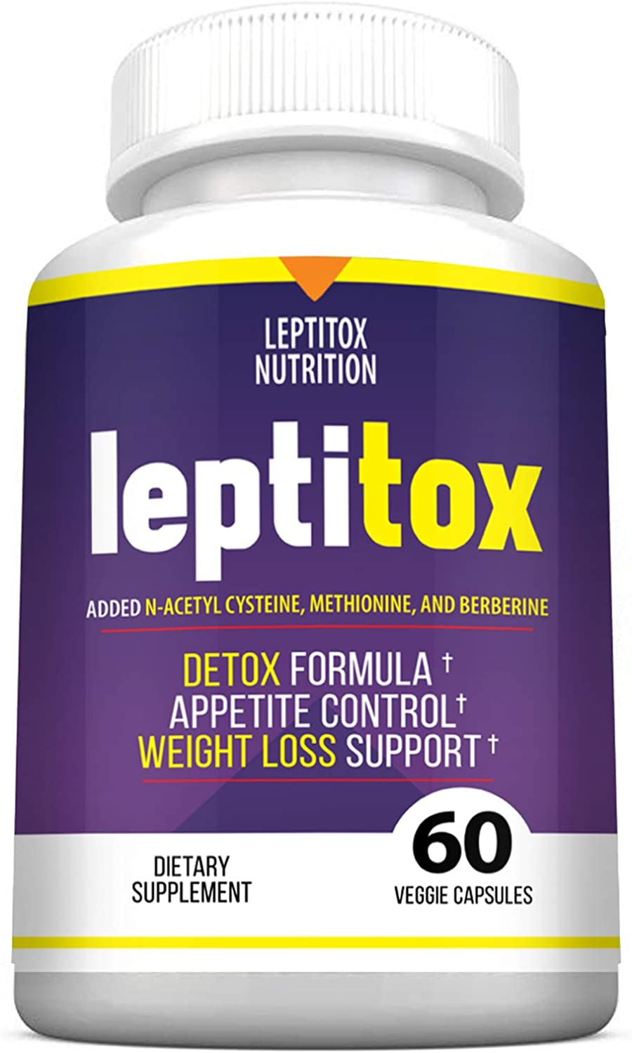 Dimensions Length  Leptitox Weight Loss