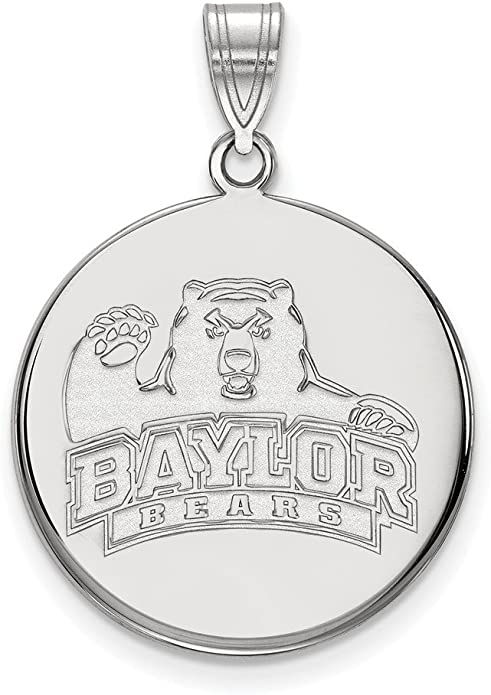 Florida State University Seminoles School Mascot Pendant in Sterling Silver 10x9mm