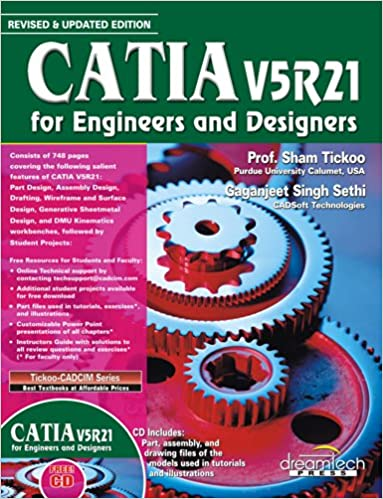 Buy Catia V5R21: for Engineers and Designers Book Online at Low ...