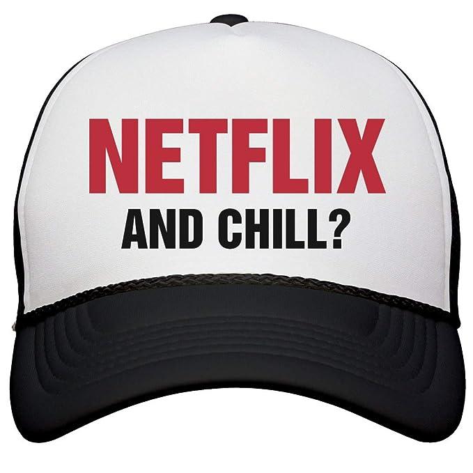 Amazon.com: Netflix y Chill Sombrero: Otto poly-foam ...