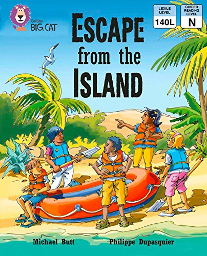 Collins Big Cat – Escape from the Island: Band 9/ Gold (English Edition)