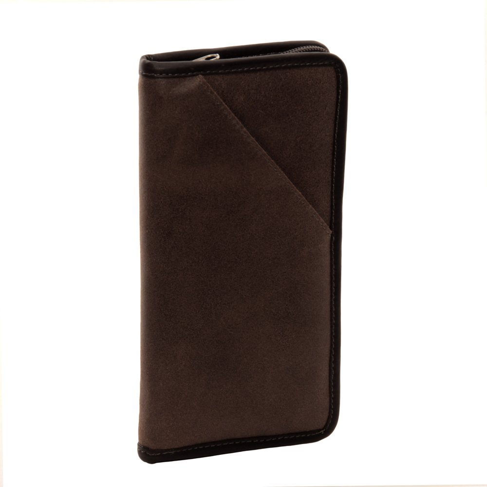 Piel Leather Vintage Executive Travel Wallet, Brown