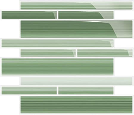 Glass for Tile Kitchens and Bathrooms Sage Green Sample Pack