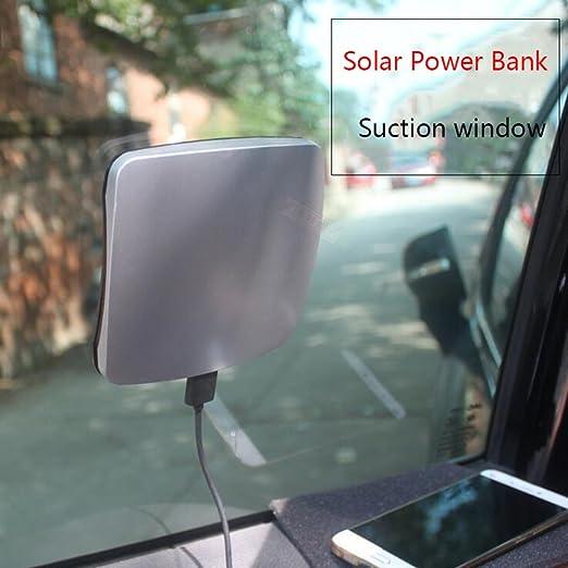 HUAN Nuevo Banco de Energía Solar Thin Solar Charger Power ...
