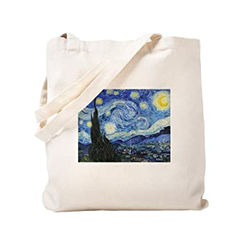 CafePress The Starry Night por Vincent Van Gogh Bolsa, lona ...