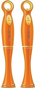 Sencor Stick Blender with 17 oz Beaker (Orange, 2-Pack) Bundle (2 Items)
