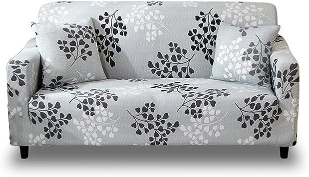 Amazon De Hotniu Elastischer Sofabezug Sofahusse 3 Sitzer Sofa