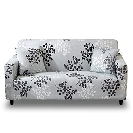 Groovy Hotniu 1 Piece Stretch Sofa Couch Covers Pattern Fitted Armchair Loveseat Slipcover Universal Elastic Fabric Settee Sectional Furniture Protector 3 Gmtry Best Dining Table And Chair Ideas Images Gmtryco