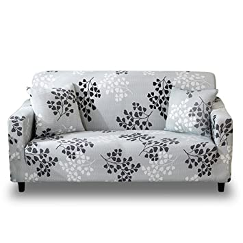 Fantastic Hotniu Stretch Sofa Slipcover 1 Piece Polyester Spandex Fabric Couch Cover Chair Loveseat Furniture Protector Covers 1 2 3 4 Seat Sofas Loveseat Andrewgaddart Wooden Chair Designs For Living Room Andrewgaddartcom