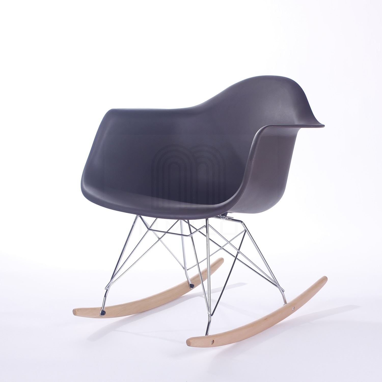 Vita Interiors Charles Eames Style RAR Rocking Chair - Black