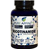 B3 Nicotinamide 500 mg Effective Flush-Free Niacin. Energy Booster, Cell Regenerator, That Supports Cognitive Decline…