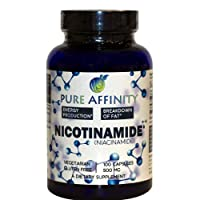 B3 Nicotinamide 500 mg Effective Flush-Free Niacin. Energy Booster, Cell Regenerator...