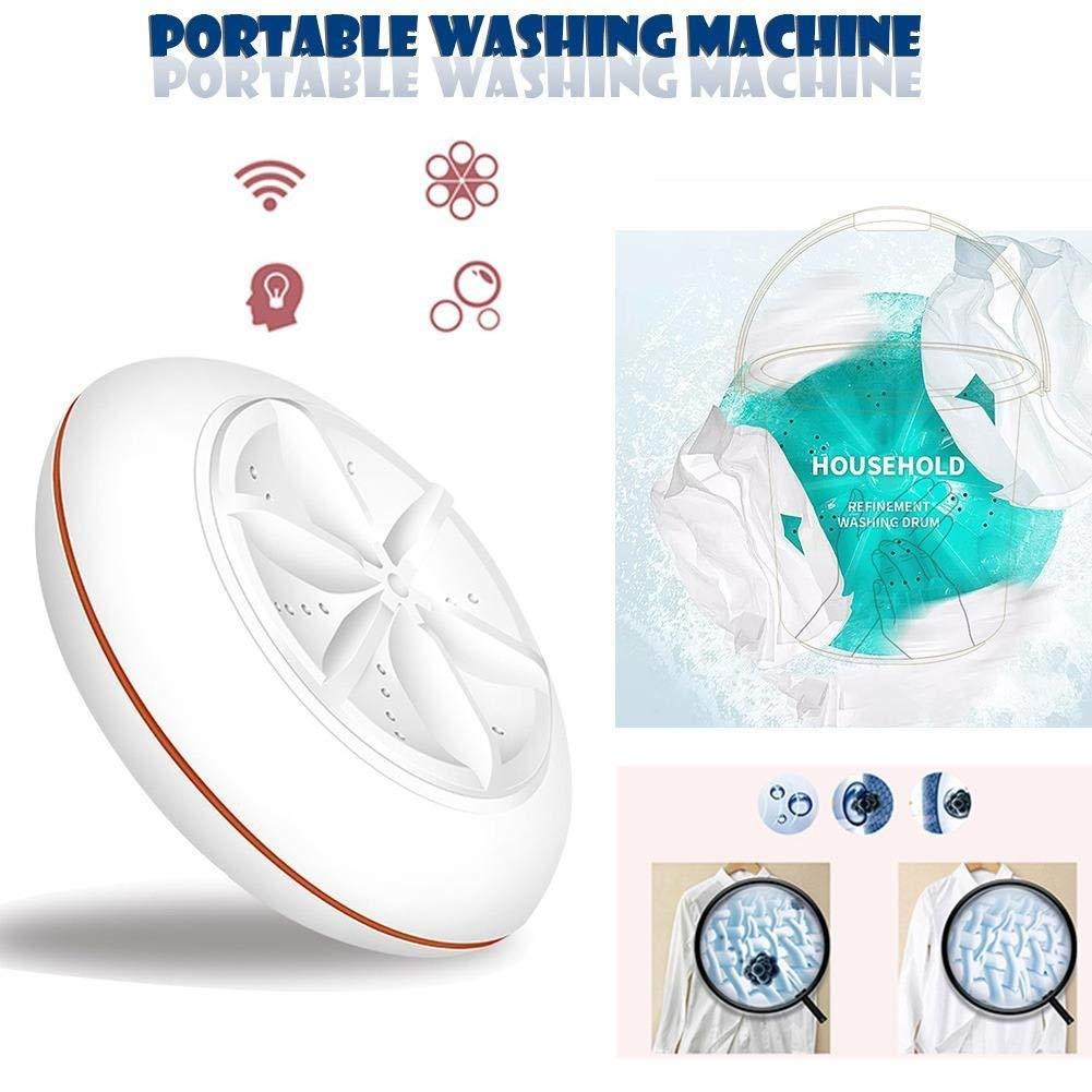 Totallyfashion turbine Machine , mini Bubble Machine Ultras/ónicas USB per frutta e verdura Machine efficace per rimuovere macchie e macchina di