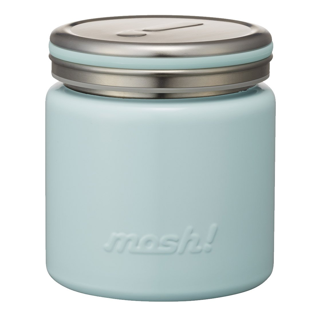 Mosh Stainless Steel Thermo Food Pot Light Blue