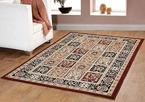 Safavieh Natural Fiber Collection NF925A Hand Woven Natural Jute Area Rug 4 x 6