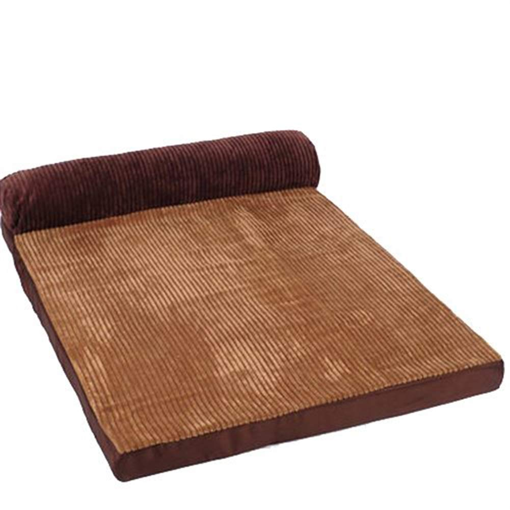 Brown 1 24''X18''X8'' Brown 1 24''X18''X8'' ONCEFIRST Pet Orthopedic Sofa Pet Bed Pillows Dogs Cats Brown 1 24''X18''X8''