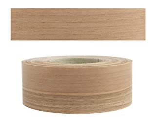 Pre Glued Iron on Steamed Beech Wood Veneer Edging Tape 50mm x 5metres Fast Dispatch*