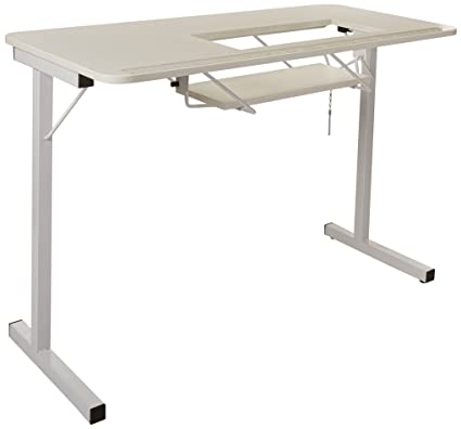Beau Arrow Sewing Cabinets 601 Gidget I, Sewing Table, White