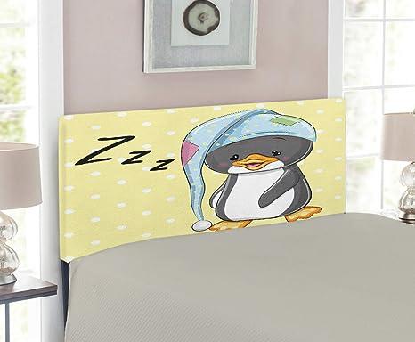Amazon.com: Cabecero de dibujos animados, pingüino para bebé ...
