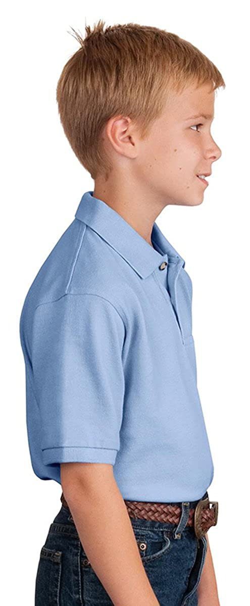 Port Authority Y420 Youth Pique Knit Polo