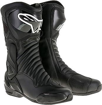 45 Black Alpinestars Mens SMX-6 V2 Drystar Street Motorcycle Boot