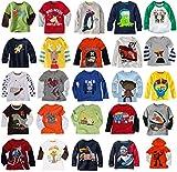 Mammybaby Baby Boy/Toddler/Kid's Long Sleeve T-Shirts(2-6 Years)