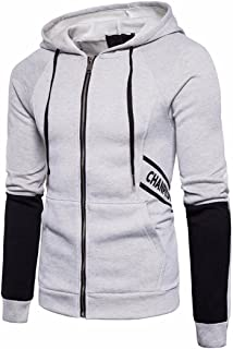 changeshopping Jackets Men Autumn Winter Sweatshirt Hoodie Casual Zipper Hooded coat changeshopping 1 Changeshopping 2464