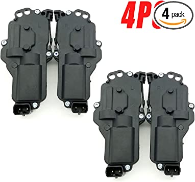 Power Door Lock Actuator For Ford F150 F250 F350 F450 F550 Excursion Expedtion Freestar Thunderbird Mazda B2300 Left Driver Side Replaces # F81Z25218A43AA 6L3Z25218A43AA