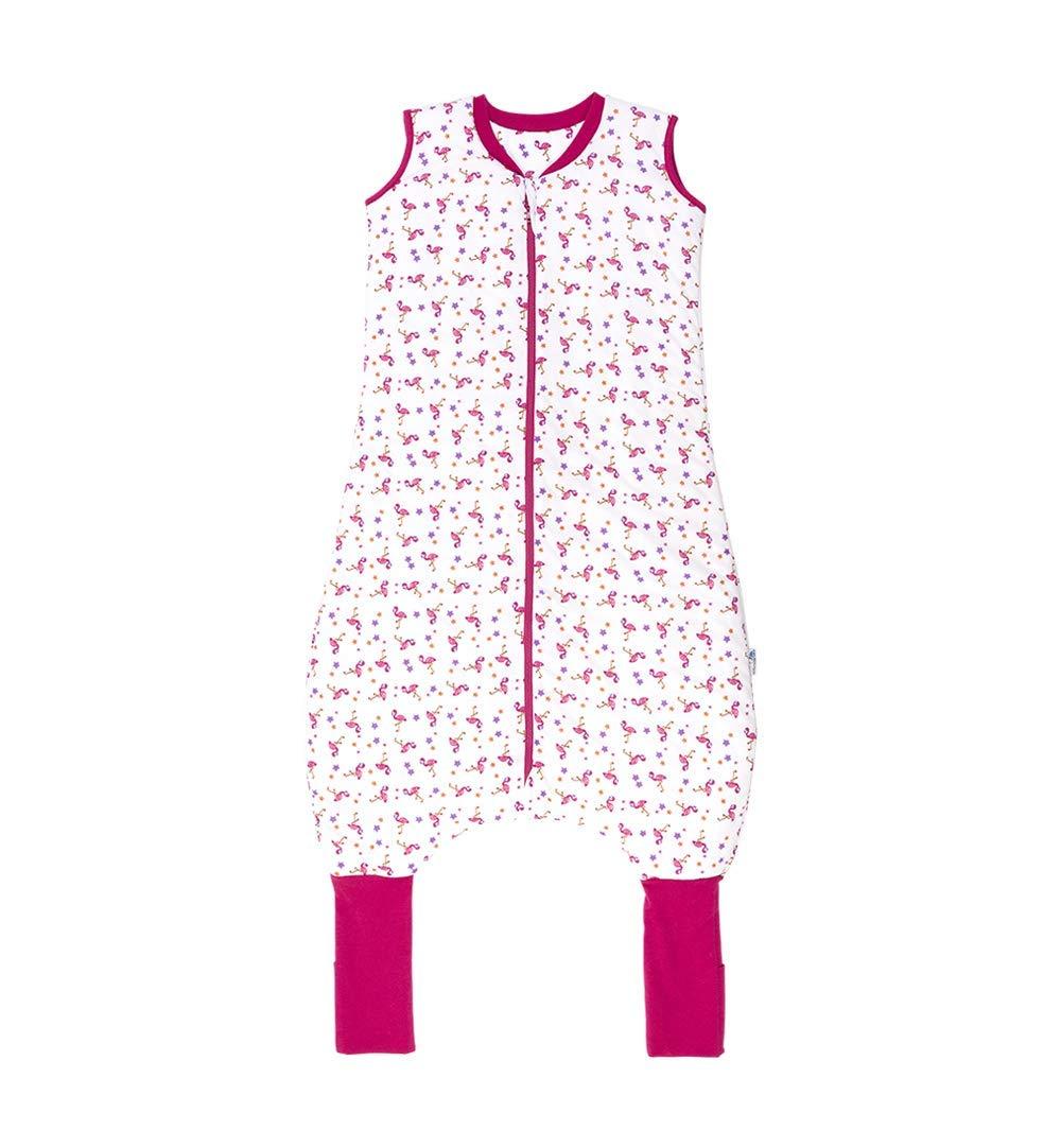 1 tog, 5 /– 6 a/ños Saco de dormir de verano con pies color rosa Slumbersac