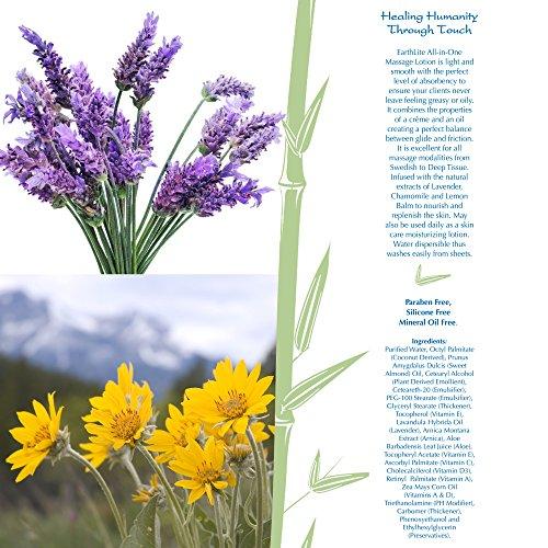 EARTHLITE Professional Massage Cream - Multi Purpose Arnica & Lavendar Massage Cream, Paraben Free by EARTHLITE (Image #5)