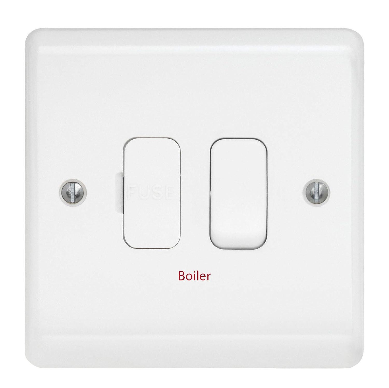 Contactum ASP2366BOR Switched DP 13A Connection Unit Boiler - 1 Pack ASP2366BOR-1PACK