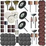 Rotary Tools 216 Piece Rotary Tool Accessory Set - Fits Dremel - Grinding, Sanding, Polishing