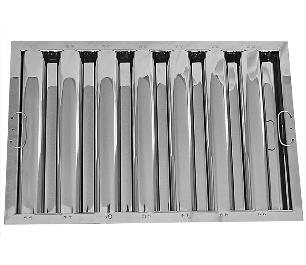 16'' X 25'' X 2'' Kleen Gard Stainless Steel Hood Filter