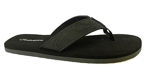 cfb28f6c7c49a New Boys' Beach Sandal Tribal Tattoo | Geometric Bali Flip-Flop Sandals (12