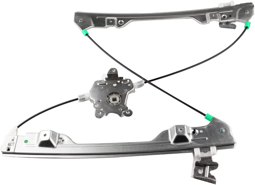 cciyu Front Left Drivers Side Power Window Lift Regulator With Motor Assembly Replacement Replacement fit for 1998-2001 Nissan Altima