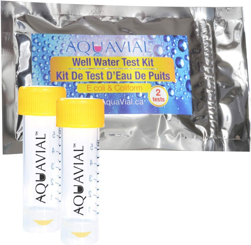 AquaVial Well Water Test Kit | Detect E.Coli and Coliform Bacteria | Simple to Use with Easy to Read Results (2)