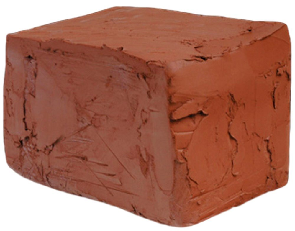Self Hardening Modeling Clay | Dries Over Night | Toxic Free | Non-Fire Self Hardening Air Dry Clay (50lb, Red)