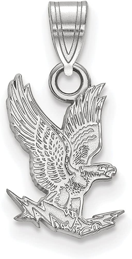 Lex /& Lu LogoArt Sterling Silver United States Air Force Academy Small Pendant LAL145529