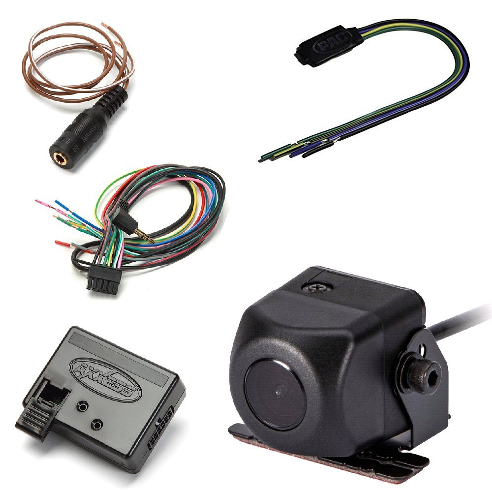PIONEER ND-BC8 Universal Rearview Camera W/ Video Lockout Bypass Trigger Module And Universal Steering Wheel Control Interface